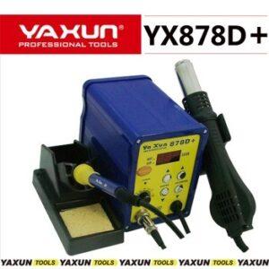 ESTACION DE SOLDADO DIGITAL  -YAXUN- YX-878D+  2 EN 1  -AIRE Y SOLDADOR