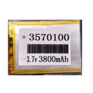 BATERIA DE TABLET 3570100  – 3800mAh  – 7 x 9.5 cm