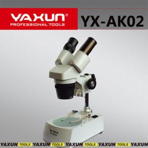 MICROSCOPIO BINOCULAR Y ESTEREO -YAXUN- AK02