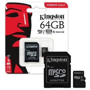 MEMORIA KINGSTON 64GB CLASE 10