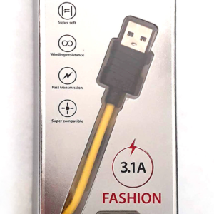 CABLE USB MOD30 – TIPO Z –  IPH – 3,1 AMP