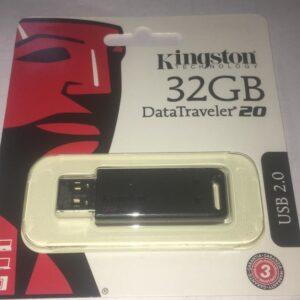PENDRIVE KINGSTON DATATRAVELER DT20 32GB 2.0
