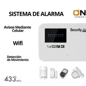 KIT ALARMA GSM CON WIFI -WL11GOS-11G