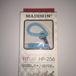 MANOS LIBRES MADISON HP-256 SPORT CELESTE