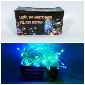 LUCES DE NAVIDAD ARROZ LED MULTICOLOR X100  POL5