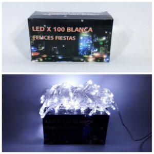 LUCES DE NAVIDAD ARROZ LED BLANCA X100 POL4