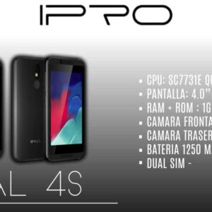 CELULAR IPRO OPAL 4S 8GB PLATA