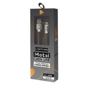 CABLE USB MOD11 – METALICO – IPH – PLATA