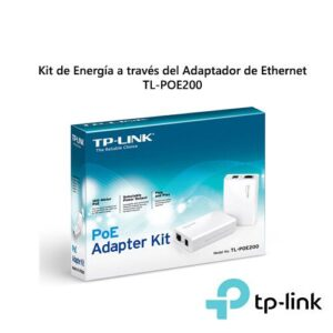 ADAPTADOR ETHERNET TP-LINK POE200 KIT DE ENERGIA