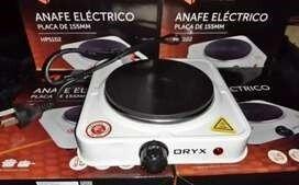 ANAFE ELECTRICO 1 HORNALLA »ORYX»-MODELO: HPS-102