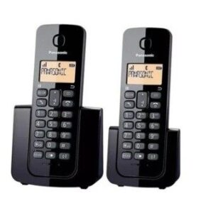 TELEFONO INALAMBRICO PANASONIC KX-TGB112AGB DUO NEGRO