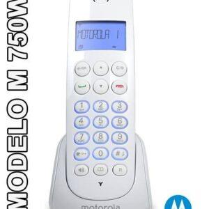 TELEFONO INALAMBRICO MOTOROLA M750W BLANCO