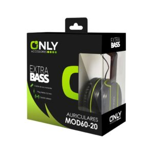 AURICULARES ONLY0123-21 VERDE
