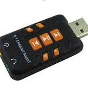 PLACA SONIDO USB A AUDIO 8.1 – Sk-C07