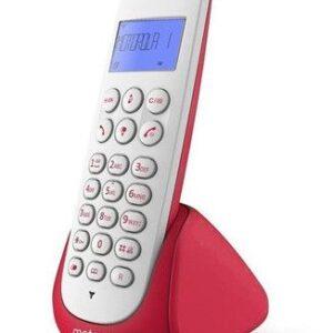 TELEFONO INALAMBRICO MOTOROLA M750R ROJO