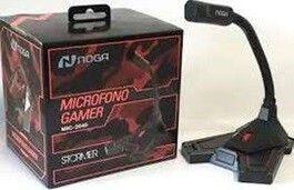 MICRÓFONO GAMER MULTIMEDIA NOGA MIC-2040 PARA PC STREAMING