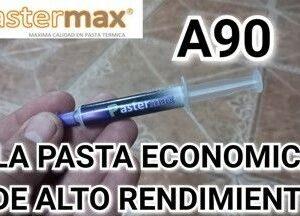 PASTA TERMICA ALUMINIO A90 -PASTERMAX- JERINGA 4GR