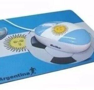 MOUSE PAD KOLKE + MOUSE BANDERA ARGENTINA