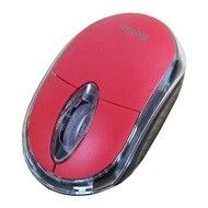 MOUSE OPTICO KOLKE KEM-340 USB EN BLISTER ROJO