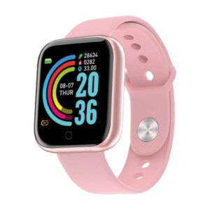 SMART WATCH MOD Y68 1.44» – ONLY – ROSA